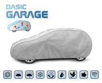PLACHTA NA AUTOMOBIL BASIC GARAGE hatchback/kombi, D. 405-430 cm