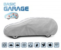 PLACHTA NA AUTOMOBIL BASIC GARAGE hatchback/kombi, D. 455-485 cm